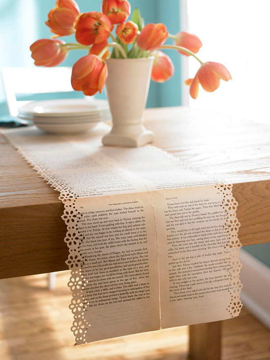 Launch table top thursdays table runner ideas everything doily table runner solutioingenieria